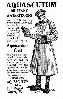 pubblicità trench aquascutum