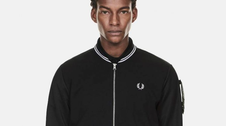 Bomber Fred Perry art comes first