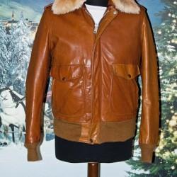 Schott vintage anni 80 mocca