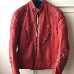 Lewis Leathers Super Phantom Red