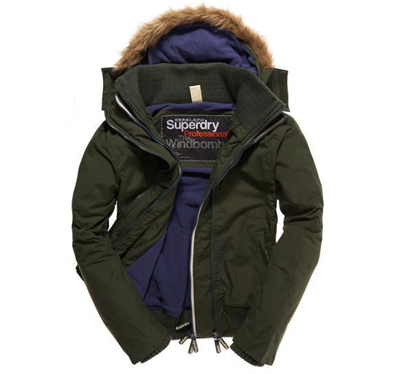 giacca a vento polar windbomber