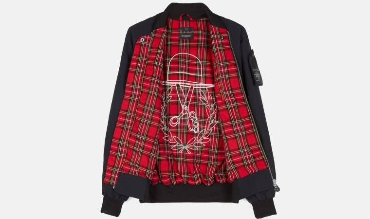 Bomber Fred Perry art comes first fodera