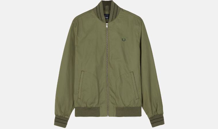 Bomber Fred Perry Tramline