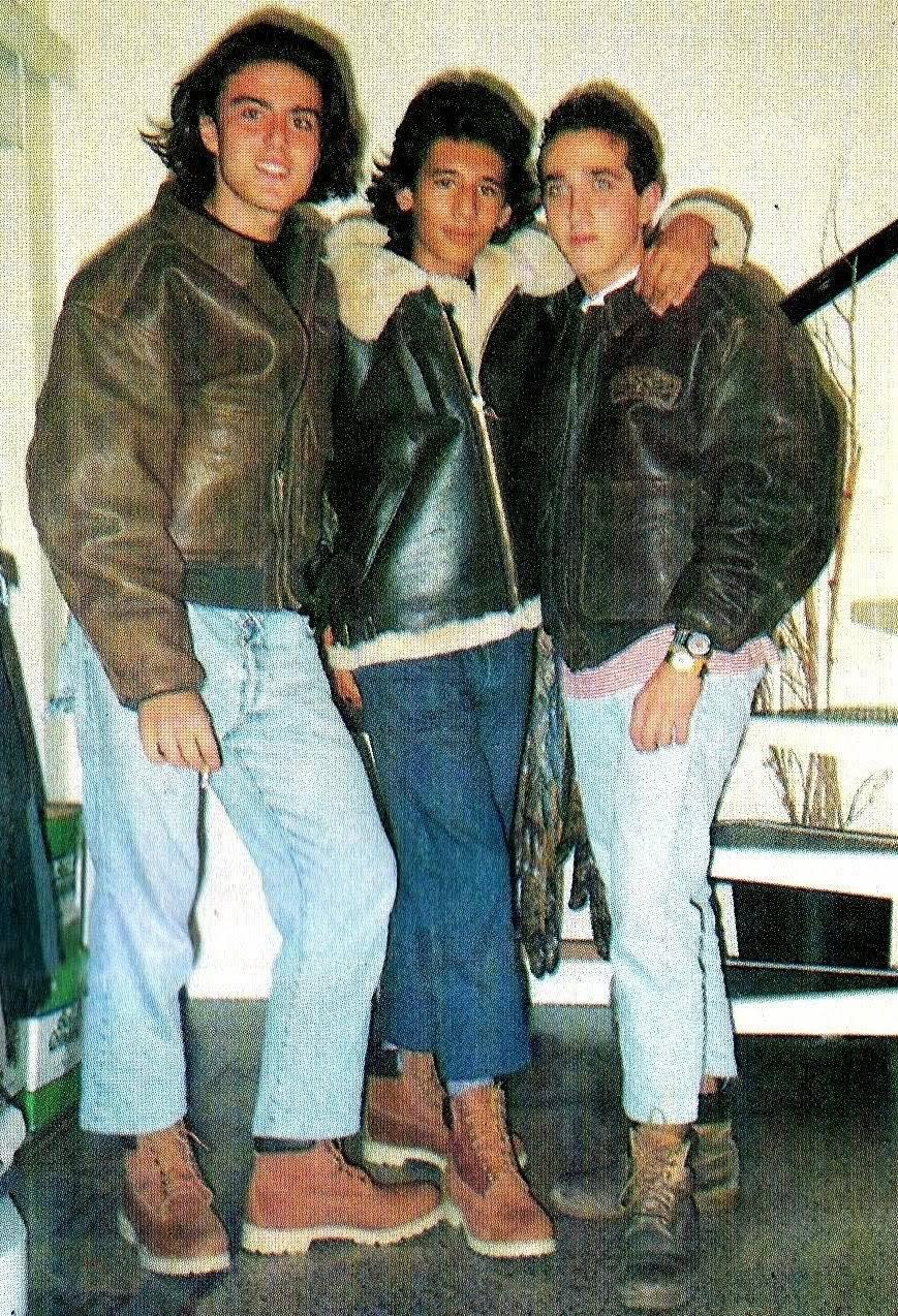giubbotti Paninari anni '80