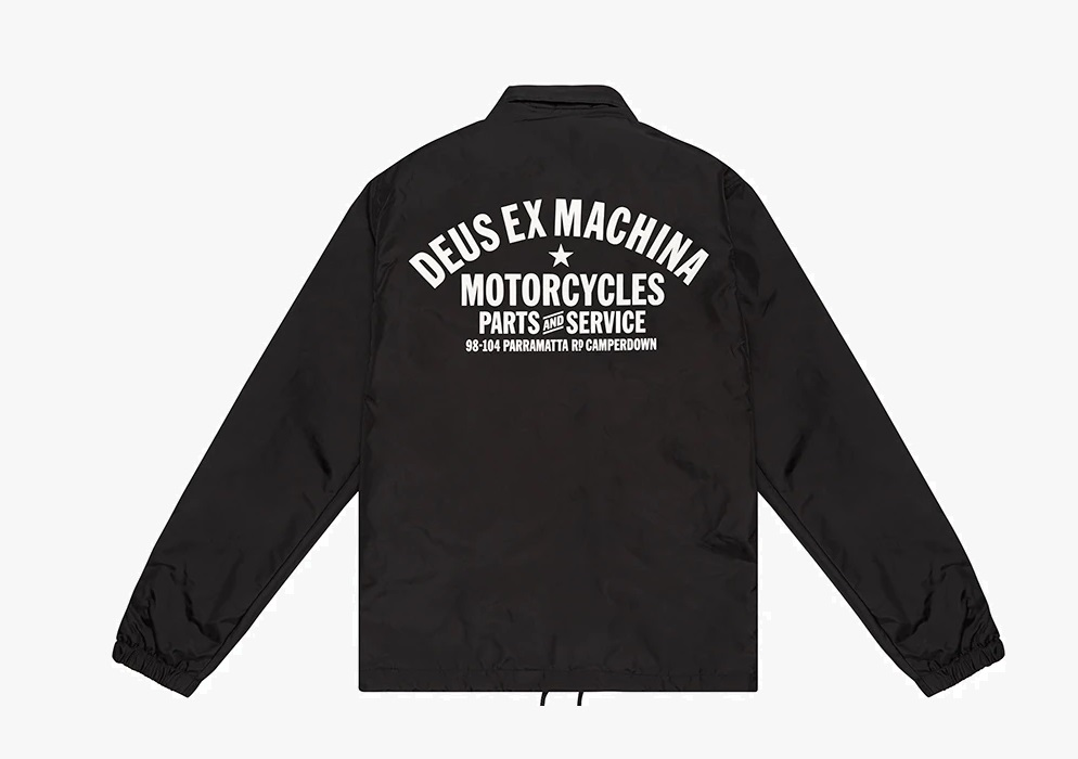 deus ex machina coach jacket